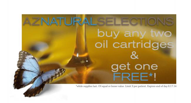 Buy 2 oil cartridges get one free!
