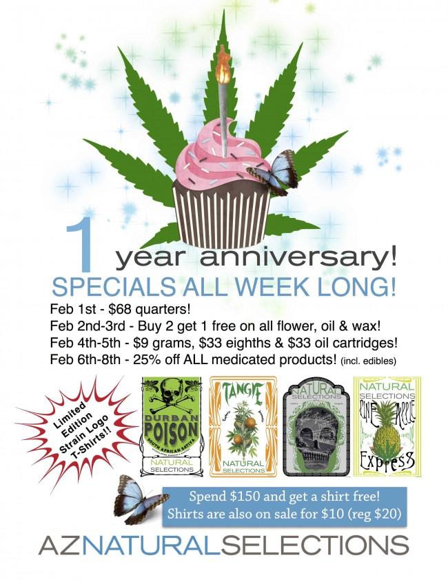 Anniversary Week Specials