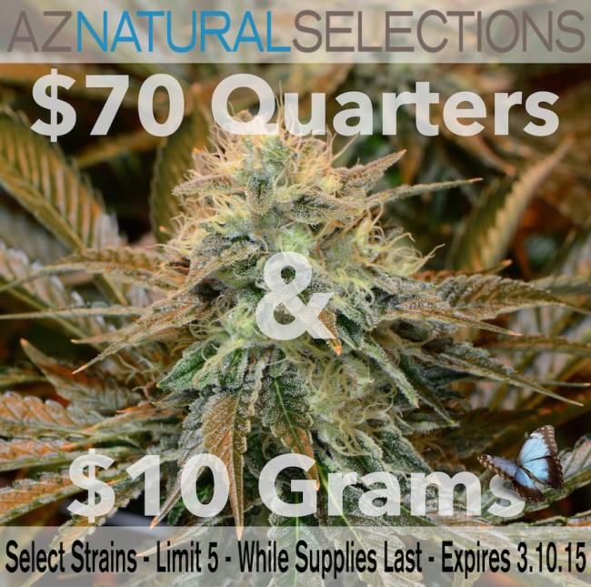 $70 Quarters & $10 Grams