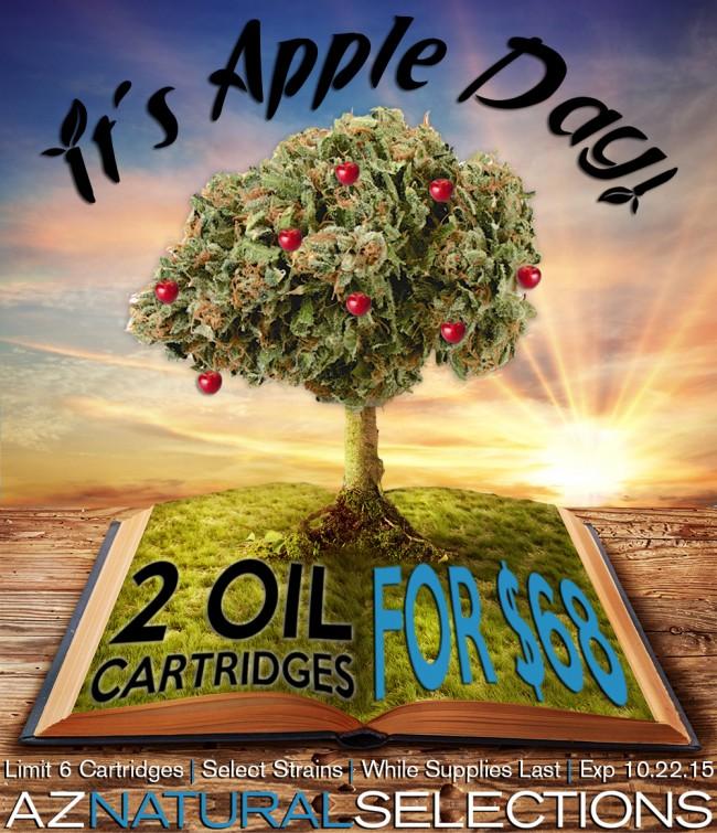 2 OIL CARTRIDGES FOR $68 THIS WEDNESDAY & THURSDAY!