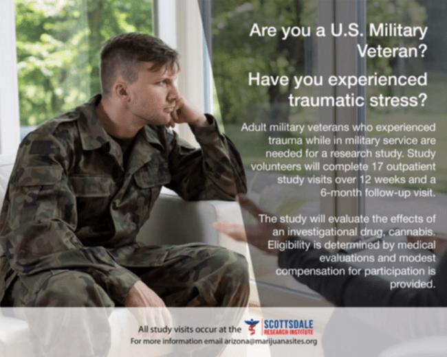 Marijuana and PTSD Study Looking for Candidates