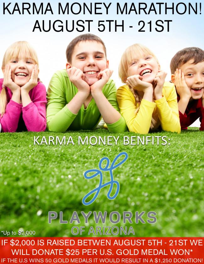 Karma Money Marathon!