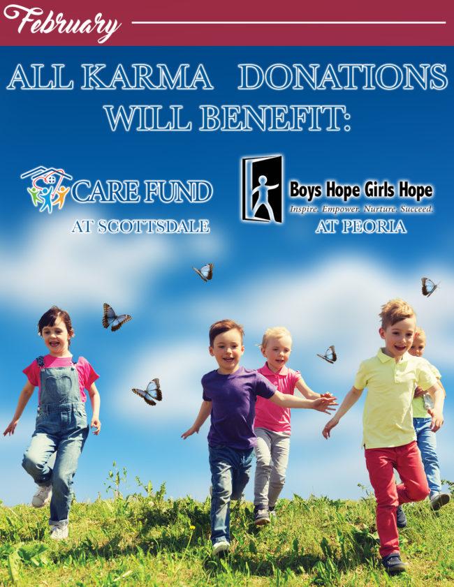 February Karma Jar Donations