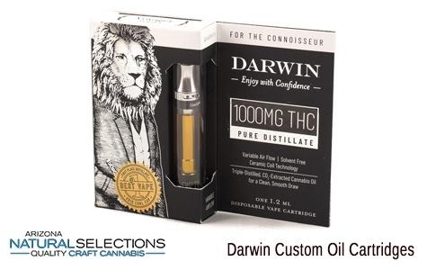 AZ Natural Selections - Darwin Custom Oil Cartridges