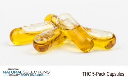THC 5-Pack Capsules