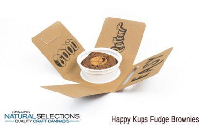 Happy Kups Fudge Brownies