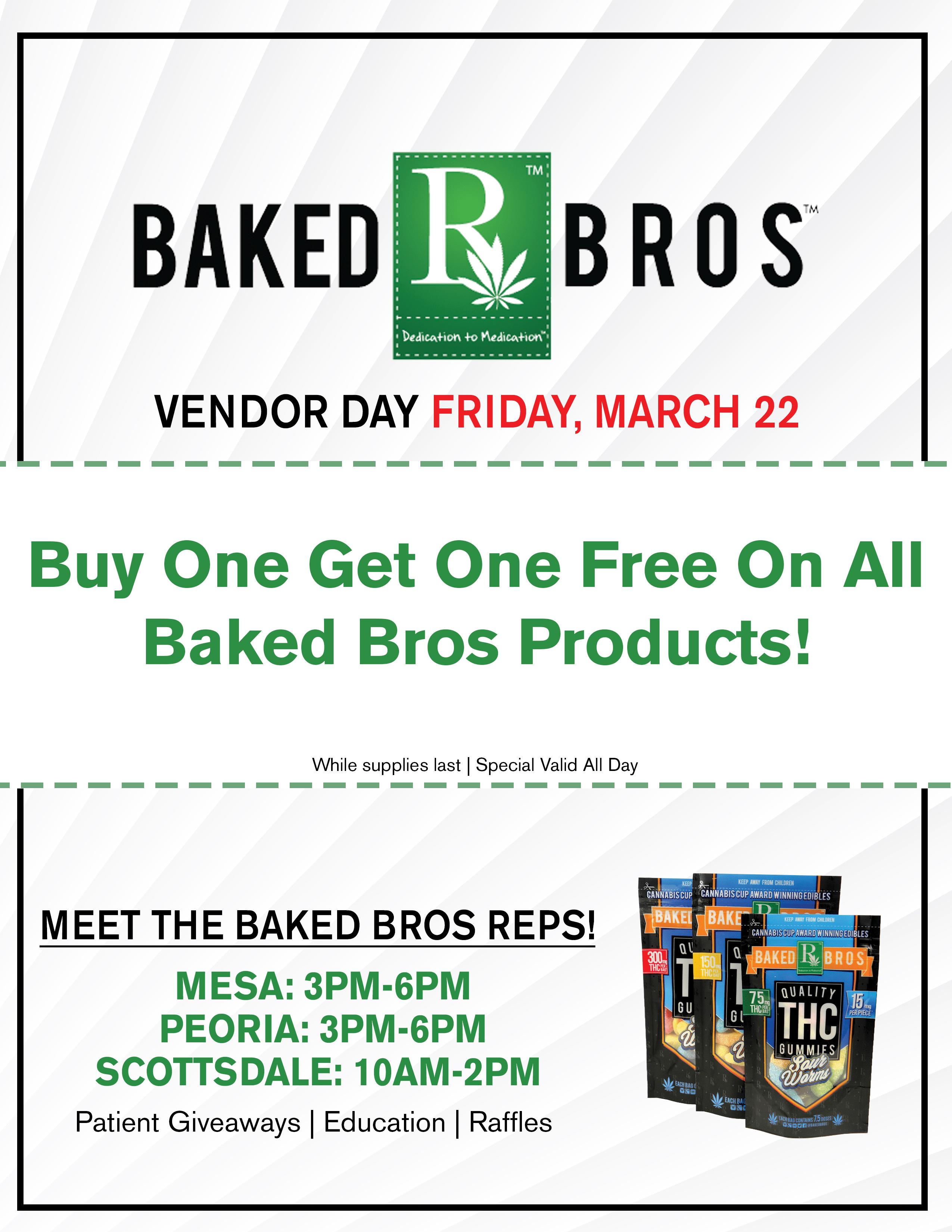 Baked Bros Vendor Day